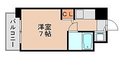 ビブレ博多駅南[4階]の間取り