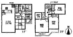 クレイドルG南花内 第1-4号棟 2190万円 新築全7棟