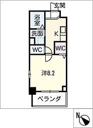 ノイグランツD[2階]の間取り