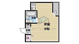 エトワールヴィルーR永和駅前[2階]の間取り