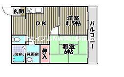 第2耐火ビル[3階]の間取り