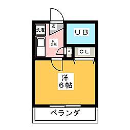 KGホーム I[2階]の間取り