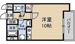 C-WING[8階]の間取り