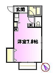 ユピテルハウス[2階]の間取り
