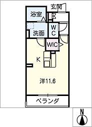 Mau Maharo[1階]の間取り