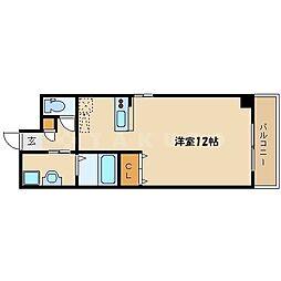 フォレスト桜ノ宮[7階]の間取り