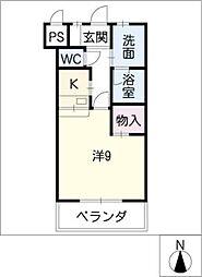 U・TOPIA79南棟[2階]の間取り