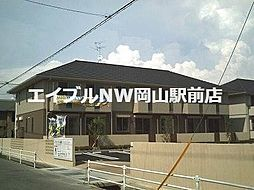 岡山県岡山市南区福浜町丁目なしの賃貸アパートの外観
