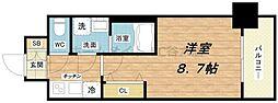 レオンコンフォート桜ノ宮[2階]の間取り