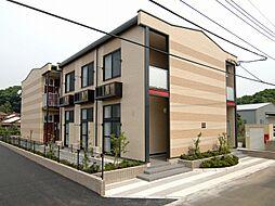 埼玉県さいたま市岩槻区大字村国の賃貸アパートの外観