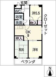 エーデルハイム[2階]の間取り