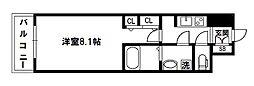 アドバンス新大阪V[11階]の間取り