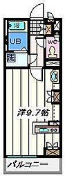 東京都足立区佐野1丁目の賃貸マンションの間取り