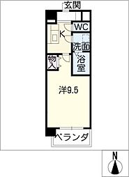 S−Style 1[3階]の間取り