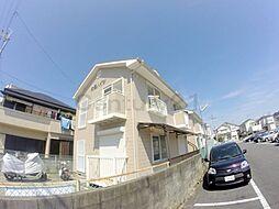 兵庫県伊丹市東野1丁目の賃貸アパートの外観