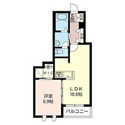 シャーメゾン志村坂上[2階]の間取り