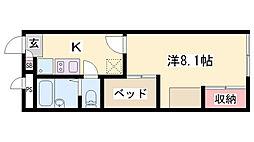 荒井駅 4.3万円