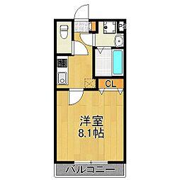アルチェコート[2階]の間取り