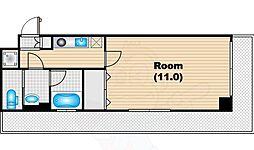 代官山眺めのいい家 4階1Kの間取り