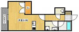 ベルリネッタ[1階]の間取り