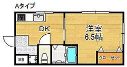 エクセレンス美都[3階]の間取り
