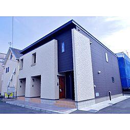 静岡県静岡市清水区船越の賃貸アパートの外観