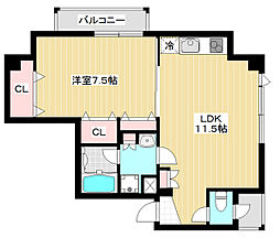 L-BOX8[301号室]の間取り