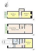 参考プラン:3LDK/延床面積:76.01?(車庫面積4.92?含)/建物参考価格:1,350万円