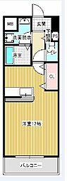 ハウオリ・ハレ[5階]の間取り
