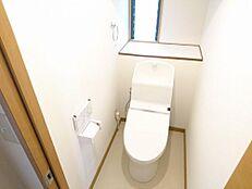リフォーム済写真トイレは新品交換しました。直接お肌に触れるものなので新品だと嬉しいですね。