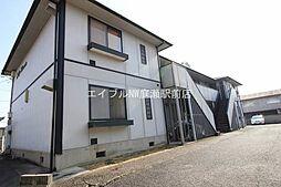 岡山県倉敷市山地丁目なしの賃貸アパートの外観
