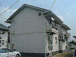 ニューハウン B棟[1階]の外観
