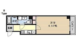 ブリエ五条大宮[305号室号室]の間取り