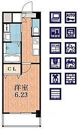 クローバー・グランデ昭和町[8階]の間取り