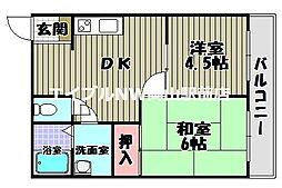 第2耐火ビル[2階]の間取り