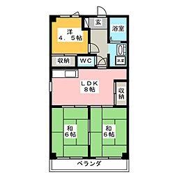 HOUSE 610[6階]の間取り
