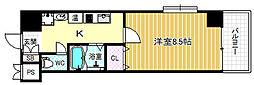 アーバンコート福島[3階]の間取り
