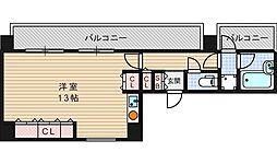 I Cubu 阿波座[10階]の間取り