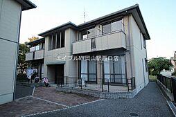 岡山県岡山市南区下中野丁目なしの賃貸アパートの外観