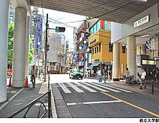 都立大学駅(現地まで1280m)