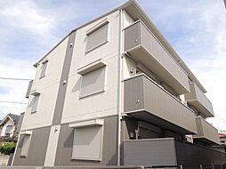 東京都足立区鹿浜3丁目の賃貸アパートの外観
