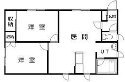 SKハイツ[1階号室]の間取り