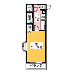 ロイヤルマンション本郷I[2階]の間取り