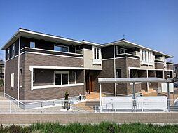 愛知県岡崎市福岡町字東河原の賃貸アパートの外観