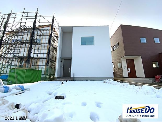 木質構造パネルシステムを構造に採用。面で構造を支える高耐震・高断熱なお家。汚れが流れやすくキレイが保てる外壁、設計者の説明を聞いてみて下さい!!