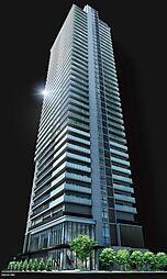 ブランズタワー御堂筋本町[32階]の外観