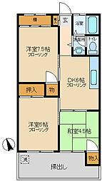 グレート・キシ[2階]の間取り