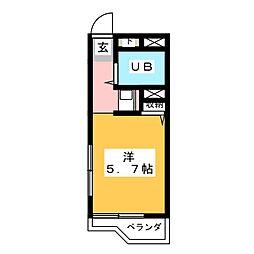 ジョイフル御器所[3階]の間取り