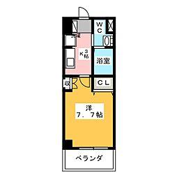 ソレイルコート桜本町[4階]の間取り
