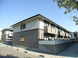 兵庫県芦屋市大東町の賃貸アパートの外観